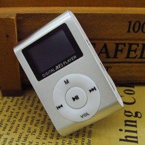 Image 4 - スポーツ MP3 プレーヤー液晶画面/金属ミニクリップ金属多色ポータブル MP3 音楽プレーヤーマイクロ tf/sd カードスロット