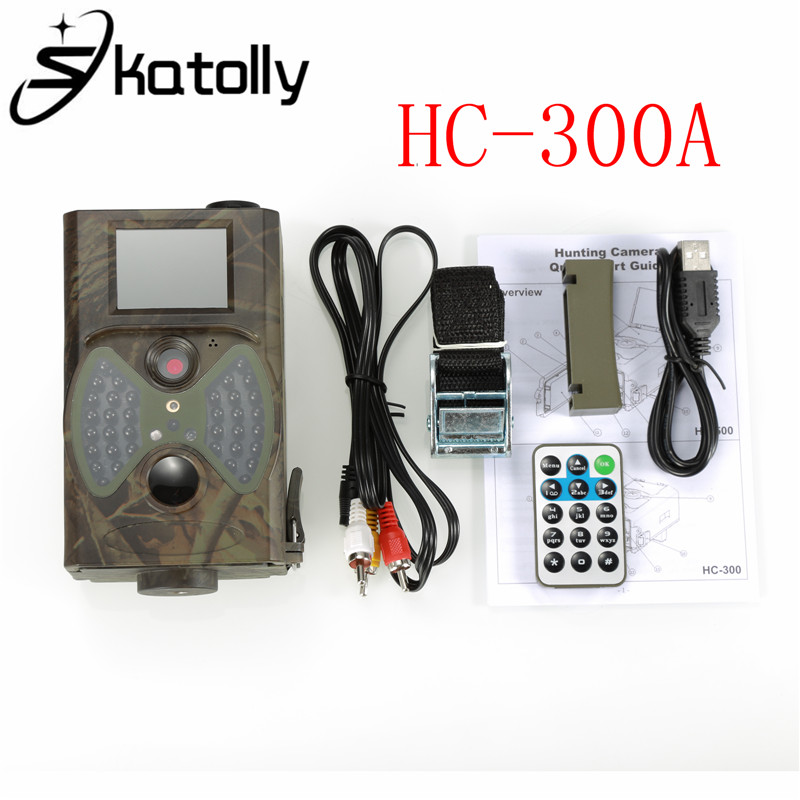 Skatolly HC300 HC-300A Outdoor Scouting Hunting Camera 12MP HD 940NM Infrared Wildlife Night Vision IR Trail Camera new 12mp hd digital hc 500m ir led wildlife hunting camera infrared scouting trail camera portable night vision video recorder