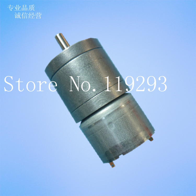 [JOY] Cologne GA25-310 Micro DC Gear Motor Gear Motor 3V 6V 12V --10PCS/LOT