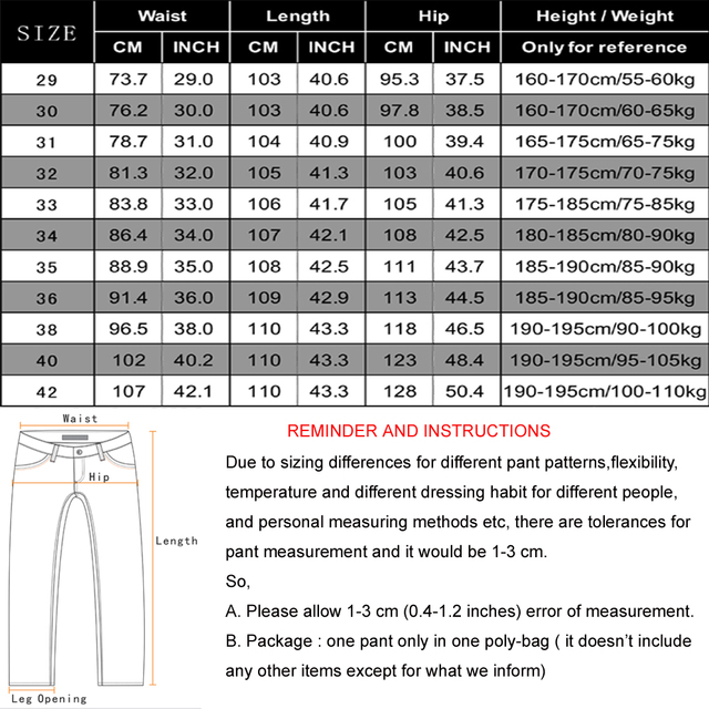 Men's Business Casual Straight Jeans 5