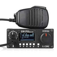 2019 NEW Xiegu G1M HF Transceiver Quad Band QRP SDR Short-Wave 5W SSB CW AW 0.5-30MHz Portable Mobile Radio Amateur Enter Level