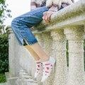 2017 Nuevo Estilo Coreano de Las Mujeres Calcetines harajuku Novedad 100% Algodón Calcetines Mujeres Coloridas Frutas divertidos Calcetines de Moda Para Las Mujeres