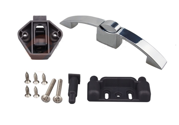 Push Handle Keyless Latch Catch For Rv, Yachts Drawer, Rv Boats, Trailers  Cabinets