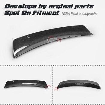 Carbon Cánh Môi Cho XE BMW E92 M3 PD Phong Cách Cơ Thể Rộng Sợi Carbon Sau Mỏ Vịt Spoiler Cơ Thể Bộ Chỉnh Viền một phần Cho E92 M3 Đua Xe
