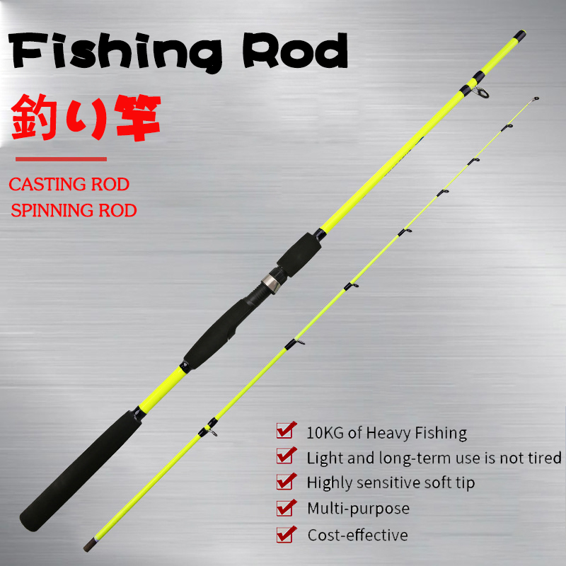 Squid trout fishing rod  Spinning Fishing Rod  Carp Feeder Rod Surf Spinning/casting Rod  2pc top section Fishing Travel Rod|Fishing Rods| |  - title=
