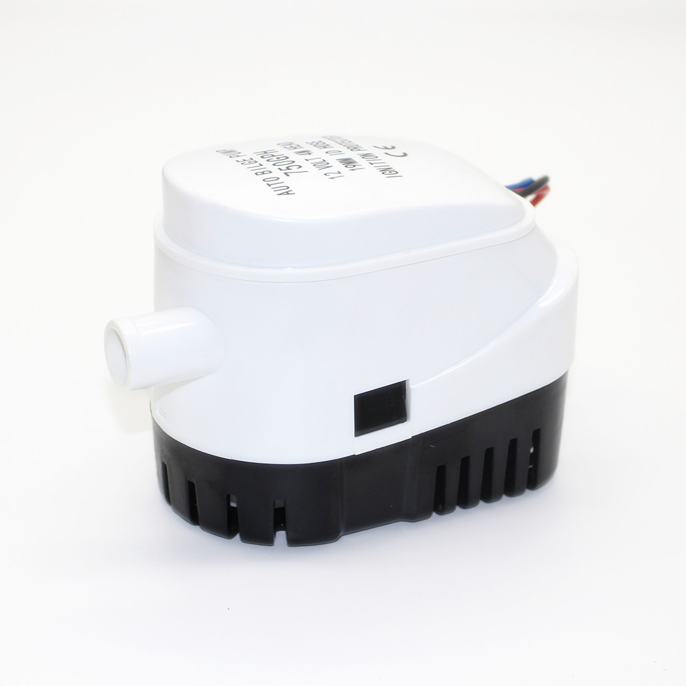 750GPH 1100GPH Automatic boat bilge pump 12V 24V DC submersible electric water pump small 12 v volt 750 1100 gph auto 750gph 12v 24v dc submersible pump bilge pump cruise ship drain pump marine pump