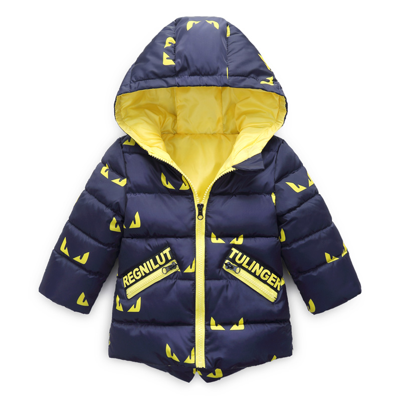 Winter Jacket for Boy Girls Baby Coat Children Parka Autumn New Fashion Boys Children Cotton-padded Clothes Kids Thick Outwear 2018 new fashion baby boy s coat middle length baby wool cotton padded jacket faux fur coat children winter clothes