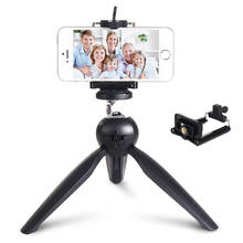 Mini desktop live broadcast tripod phone self-timer bracket equipments camera tripod phone holder for iPhone X XS Samsung Xiaomi with line original amoled display for samsung galaxy note9 lcd n960 n960f display touch screen replacement parts screen
