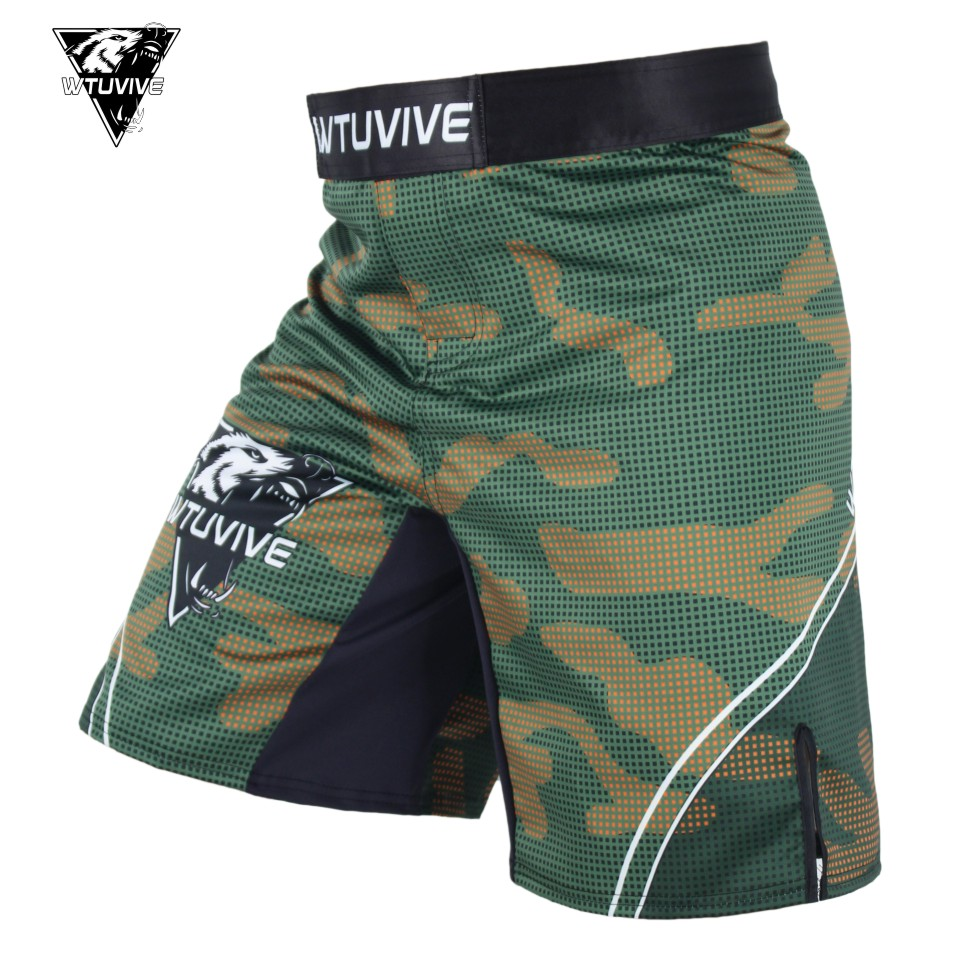 SUOTF MMA 2017 New Boxing Features Sports Training Muay Thai Fitness Personal Thai Boxing Shorts Combat Shorts clothing