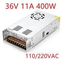 Best quality 36V 11A 400W Switching Power Supply Driver for CCTV camera LED Strip AC 100 240V Input to DC 36V