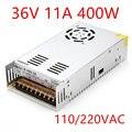 Beste Kwaliteit 36V 11A 400W Switching Power Supply Driver Voor Cctv Camera Led Strip Ac 100-240V Input Naar Dc 36V