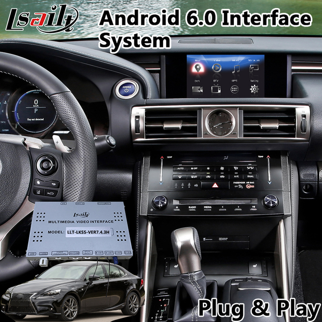 Android 6 0 Car Navigator Gps For Lexus Is Mouse Control 2017 2016 Auto Interface