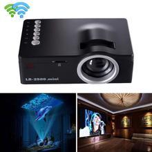 лучшая цена 1080P HD LED Home MulitMedia Theater Cinema USB TV VGA SD HDMI Mini Projector Jan 23