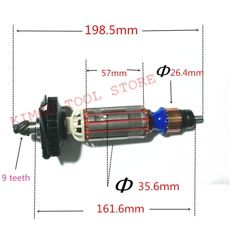 AC220-240V Motore Del Motore Del Rotore 637075-00 N398000 D28132 D28135 D28136 D28137 D28132C per DeWALTAC220-240V Motore Del Motore Del Rotore 637075-00 N398000 D28132 D28135 D28136 D28137 D28132C per DeWALT