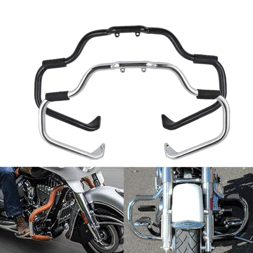 Motorcycle Mustache Highway Engine Guard Bar For Indian Chieftain Chief Dark Horse 2016 2018 Classic Vintage