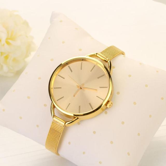 Fashion 2018 Luxury Stainless Watches Women Quartz Bracelet Watch Ladies Dress W