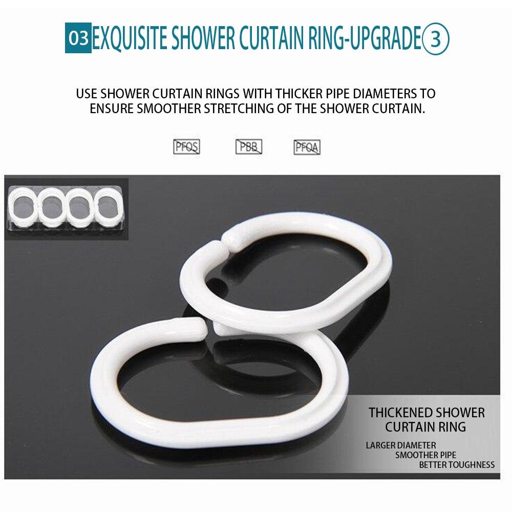 3D Custom Pattern Beach Shower Curtain Bathroom Waterproof Polyester Printing Curtains for Bathroom Shower