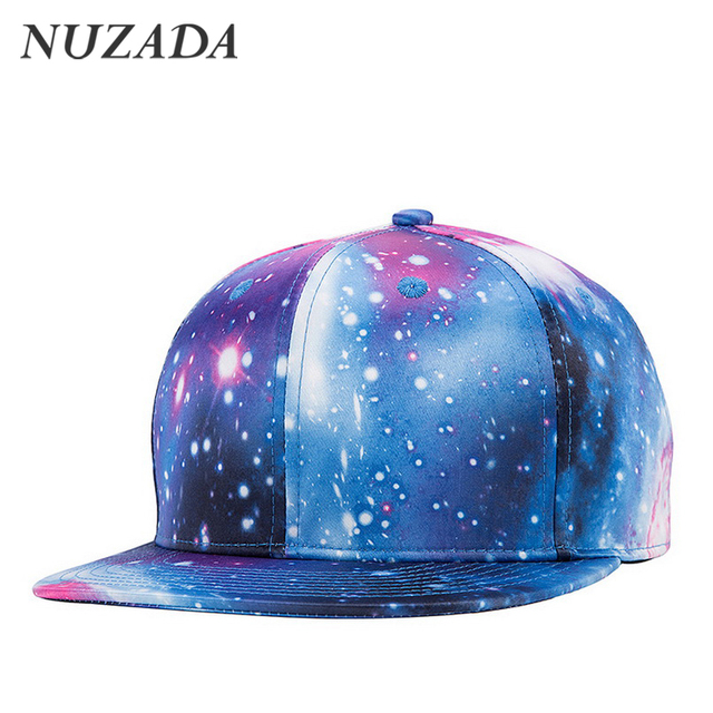 Brands NUZADA 3D Thermal Transfer Men Women Baseball Caps Snapback Hip Hop Cap Sports Hats Bone Fashion Original Design jt-123