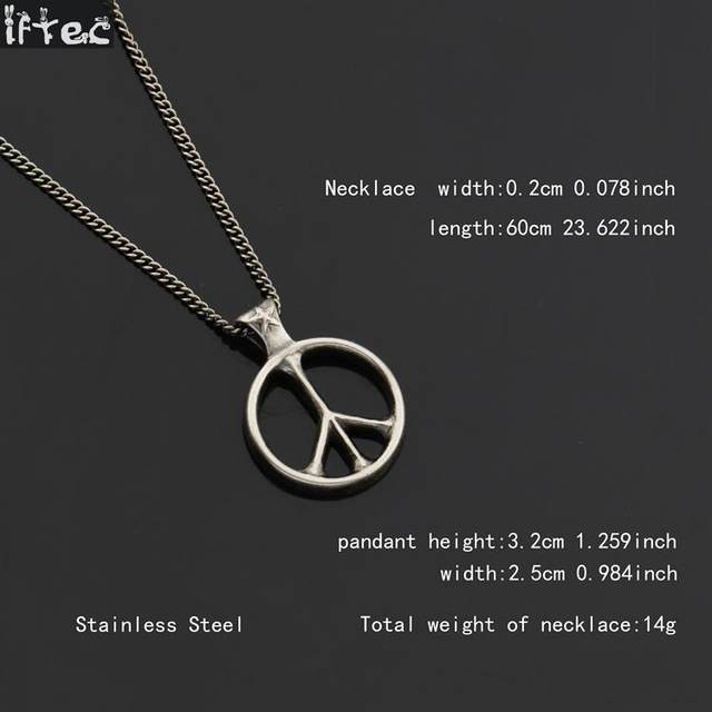 Online shop world peace necklace hot sale retro silver pendant online shop world peace necklace hot sale retro silver pendant simple design peace sign necklaces for men and women hip hop jewelry aliexpress mobile aloadofball Image collections
