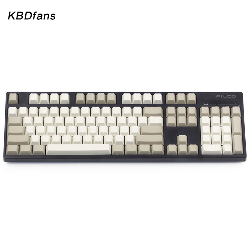 dhl ems 117 keycaps pbt cherry profile caps for mechanical gaming keyboard russian korean japanese Enjoypbt keycaps ISO KEYS blank pbt keycaps 117 keys cherry profile for cherry mx mechanical keyboard dark black cmyw