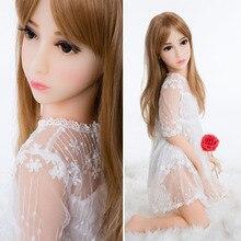 100 см японского аниме Полный силиконовые мини-секс-куклы, Реалистичный, похожий на естественный всего тела твердый силикон секс-кукла