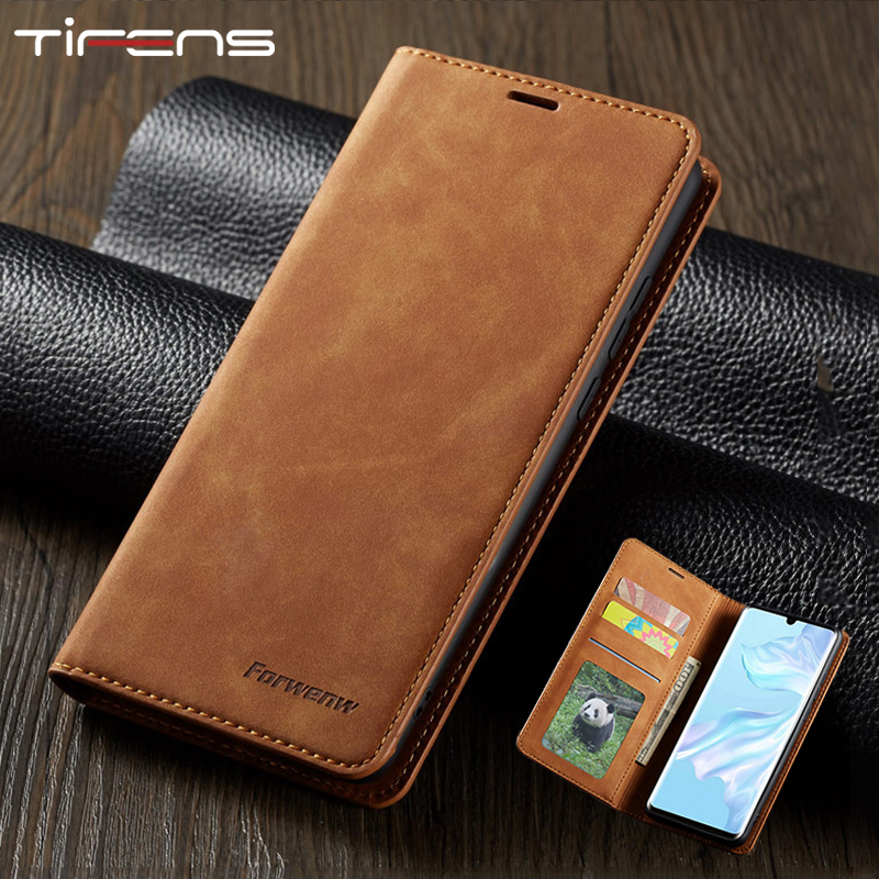 Magnetic Leather Case For Huawei Mate 20 30 P20 P30 P40 Pro Lite P Smart Plus 2019 2020 Honor10lite Wallet Card Flip Phone Cover(China)