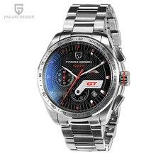 Relojes de la Nueva Llegada de Los Hombres Top Brand Deportes Pagani Diseño de Acero Inoxidable Reloj de Cuarzo Relogio masculino Montre Homme 2016