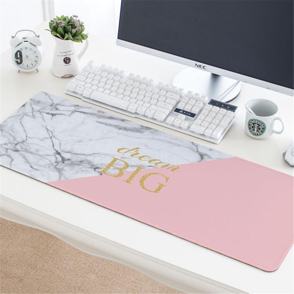 780*300mm tapis de souris grande taille Cool en caoutchouc tapis de souris de bureau d'affaires bureau maison Table Pad pour ordinateur portable clavier ordinateur portable