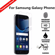 9H tempered glass Film For Samsung Galaxy S7562 i9082 I9060 G530 SM G355h G360 GT i8262 i8552 Core Prime Alpha Win Grand 2 Case(China)