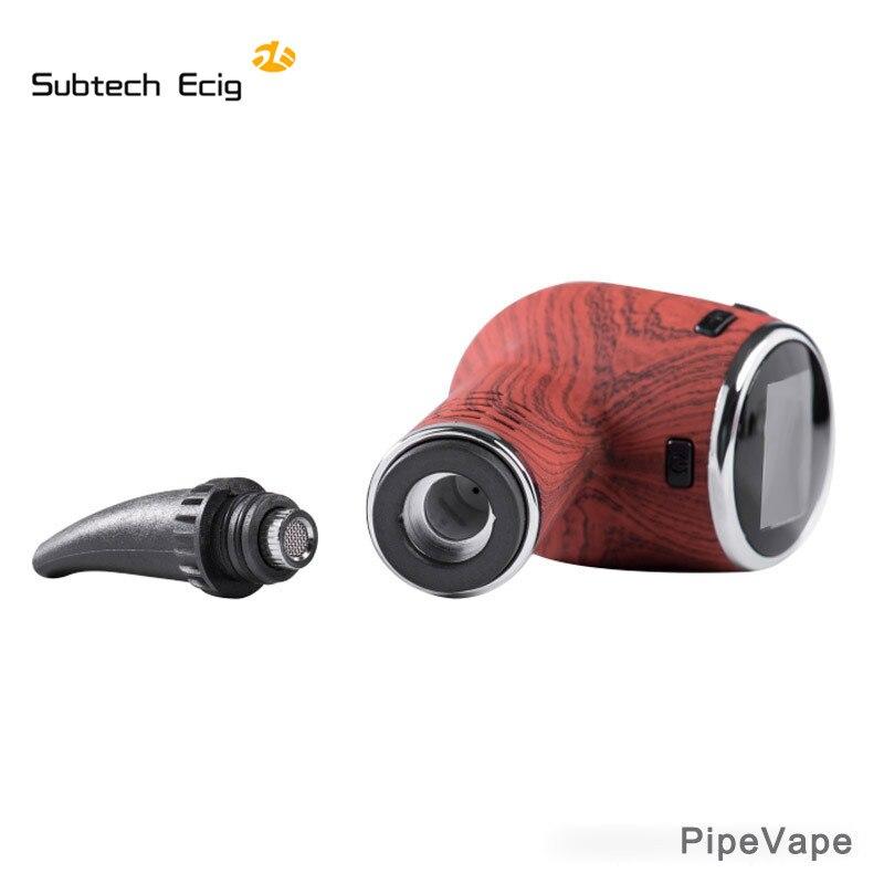 Herbe sèche vaporisateur tuyau Vape kit e cigarettes vape stylo herbe sèche contrôle de la température écran LED tabac intégré 1000 mah batterie - 3