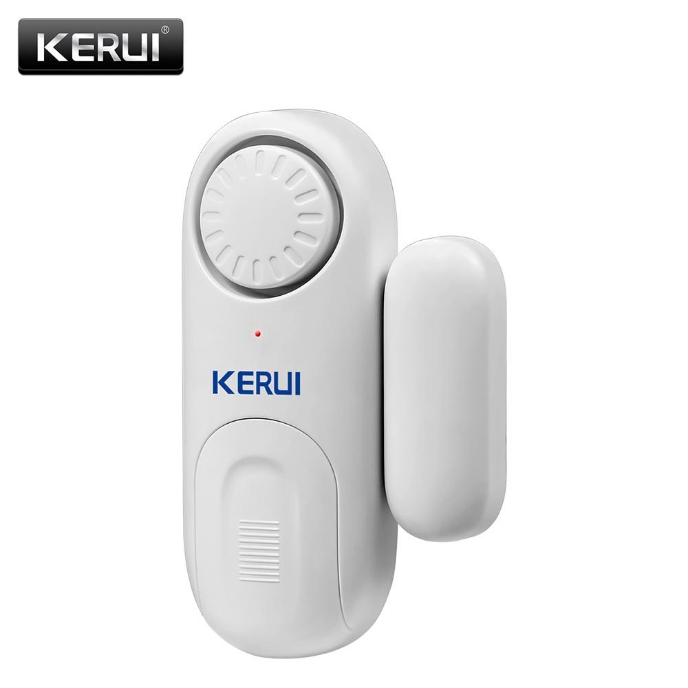 KERUI D1 120dB Standalone Independent Magnetic Door Window Alarm Sensor Home Security Anti-theft Burglar Door Open Detector