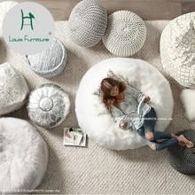 Bolsa de granos de lana de gran calidad para dormitorio Louis Fashion individual y encantadora, personalidad ósea, familia pequeña, se puede desmontar y lavar