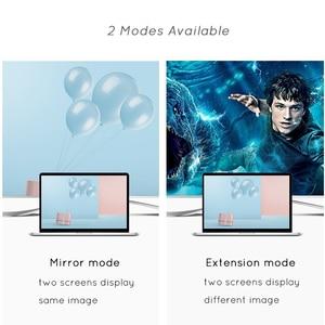 Image 3 - USBC To HDMI 4K 30 Hz VGA Adapter USB 3.1 Type C USB C to VGA HDMI Video Converters Adaptor for New Macbook Pro/ Chromebook Pix