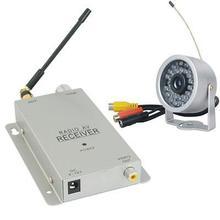 Envío gratis envío gratis 1.2 GHz cámara inalámbrica con receptor inalámbrico de vigilancia de seguridad CCTV