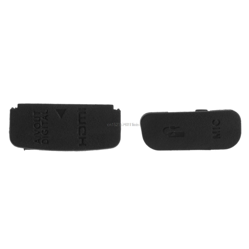 Interface USB AV OUT HDMI MIC Rubber Door Bottom Cover For Canon 600D Camera