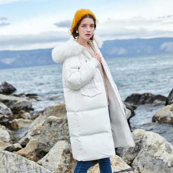 SEMIR 2019 Hot Sale Winter Women Coats Down Thicken Jacket And Coat For Woman Long Jacket Four Colors For -20 Low Degree 1