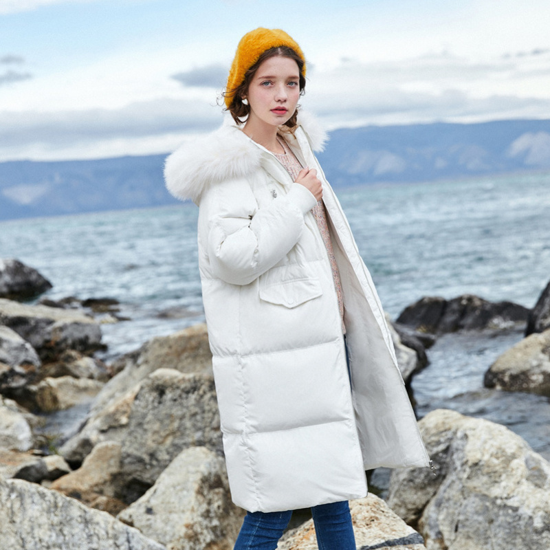 SEMIR 2018 Hot Sale Winter Womens   Coats     Down   Thicken Jacket And   Coat   For Women Long Jacket Parka Four Colors For -20 Low Degree