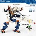 GUDI Universo Série Montado Mecânica Exoesqueleto de Plástico Blocos de Construção de Brinquedos