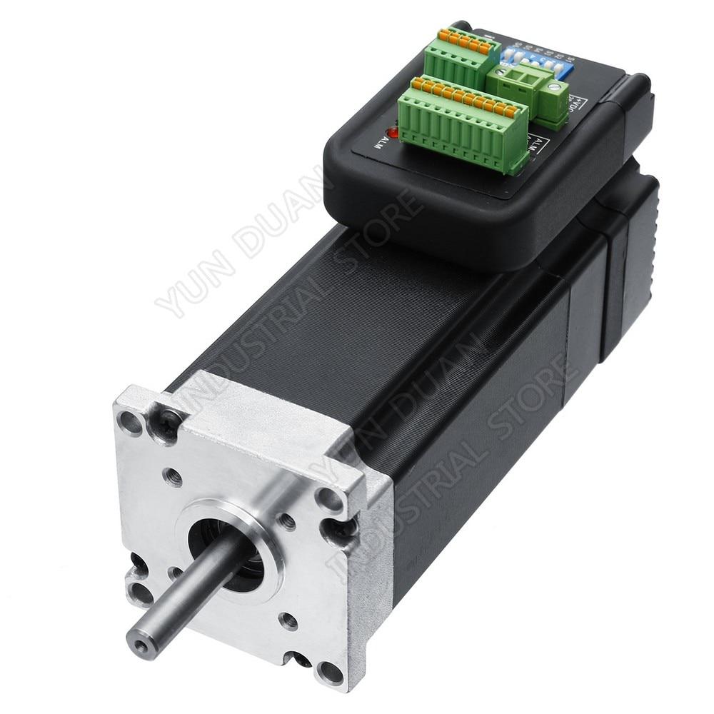 180W NEMA23 Integrated Servo 0 6Nm 36VDC 3000RPM 57mm 7 4A Driver Motor Encoder Brushless All