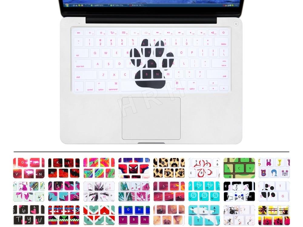 """Symbol Der Marke Tier Fußabdruck Muster Silikon Tastatur Hülle Für Alle Apple Macbook Pro Air Retina 13 """"15"""" 17 """"air 13 Zoll 100% Original"""