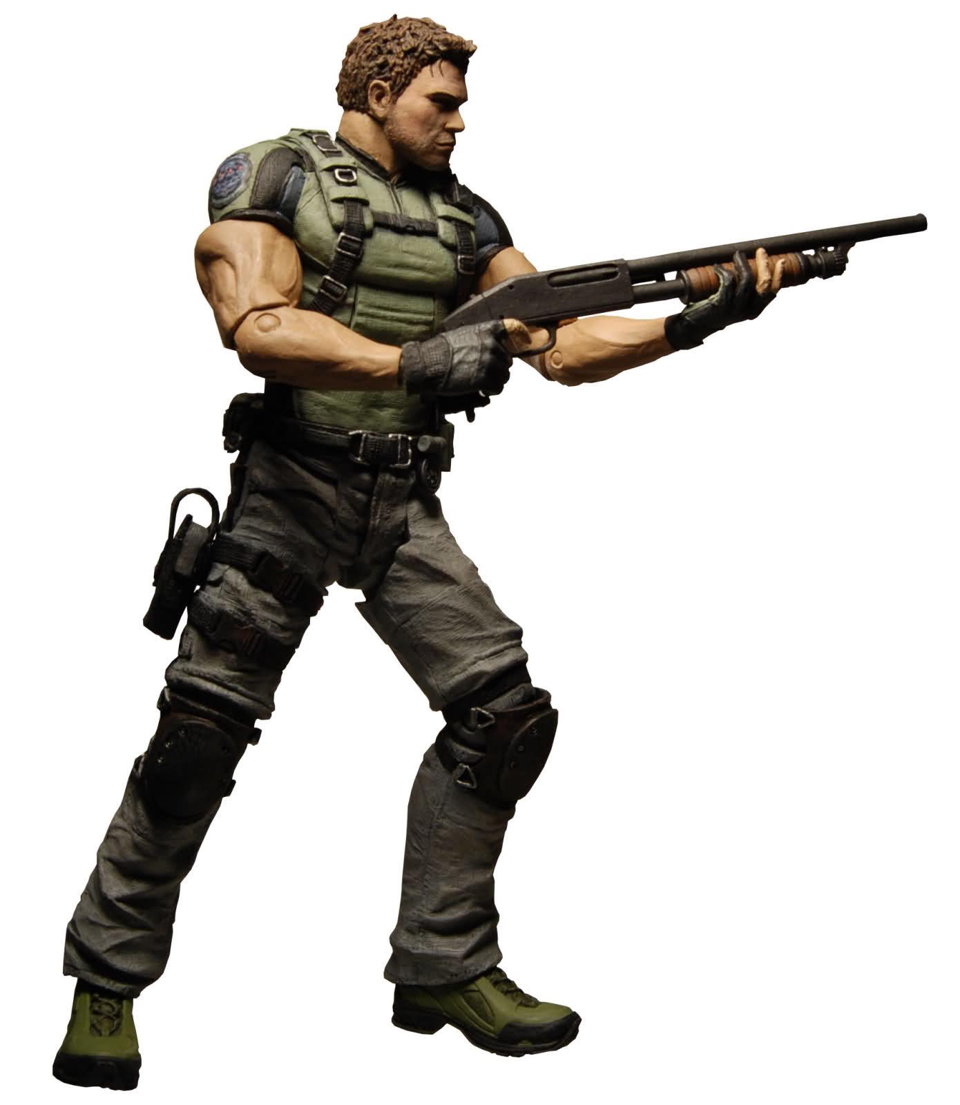 NECA Resident Evil Character Chris Redfield Action Figure ToysNECA Resident Evil Character Chris Redfield Action Figure Toys