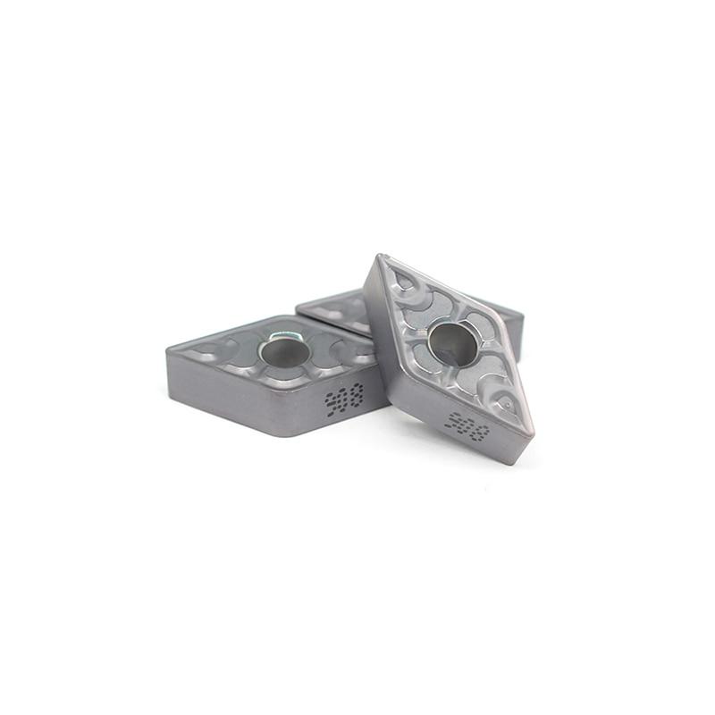 10PCS DNMG150608 TF IC908 External Turning Tools Carbide Insert Lathe Cutter Tool Tokarnyy Turning Insert