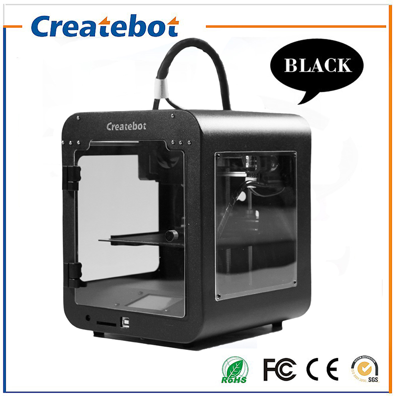 Createbot Super Mini Light Weight Metal Frame 3D Printer Kits Single ...
