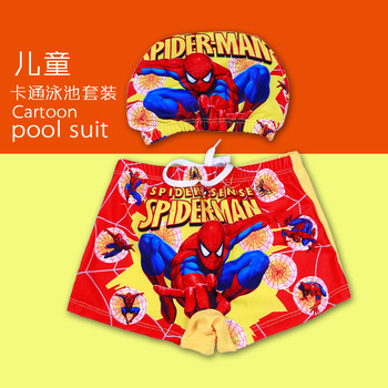 Boy Swimwear Pants ages 0 to 9 Baby Boy Kid Child Swimsuit Summer Swim Wear Shorts Cartoon Printed Toddler Swimming Trunks 1