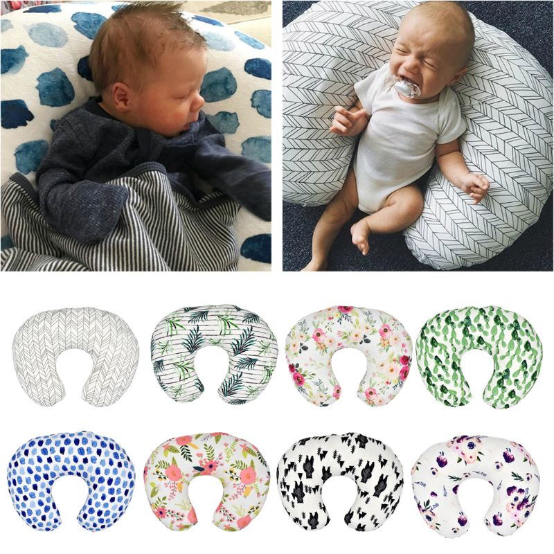 1-2Pcs Cover Feeding Pillow Nursing Maternity Naby Pregnancy Breasteeding Nursing Pillow Cover Slipcover Only Cover