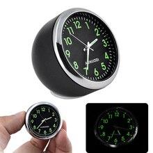 Mini clock in car Luminova Mechanics Quartz Clock Mini car Watch Digital car clock automobile clock