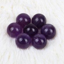 Pierre Naturelle, sphère de Quartz améthyste naturel, grande jolie boule de cristal guérison Pierre violette, pierres et cristaux, G613
