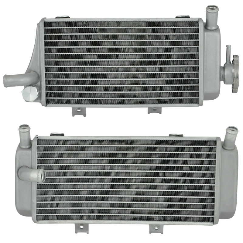 Left & Right Motorcycle Aluminium Cooling Radiator For Honda CRF450X CRF450 CRF450R 05 06 07 08 CRF 450X 450R 05-08