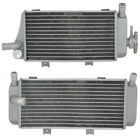 Left & Right Motorcycle Aluminium Cooling Radiator For Honda CRF450X CRF450 CRF450R 05 06 07 08 CRF 450X 450R 05 08