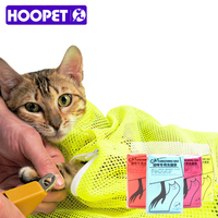 Strong Cat Grooming Bathing Bag Adjustable Buckle Functional Cats Holding Bath Washing Bag Accessories